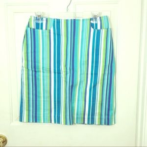 Striped Skirt-6